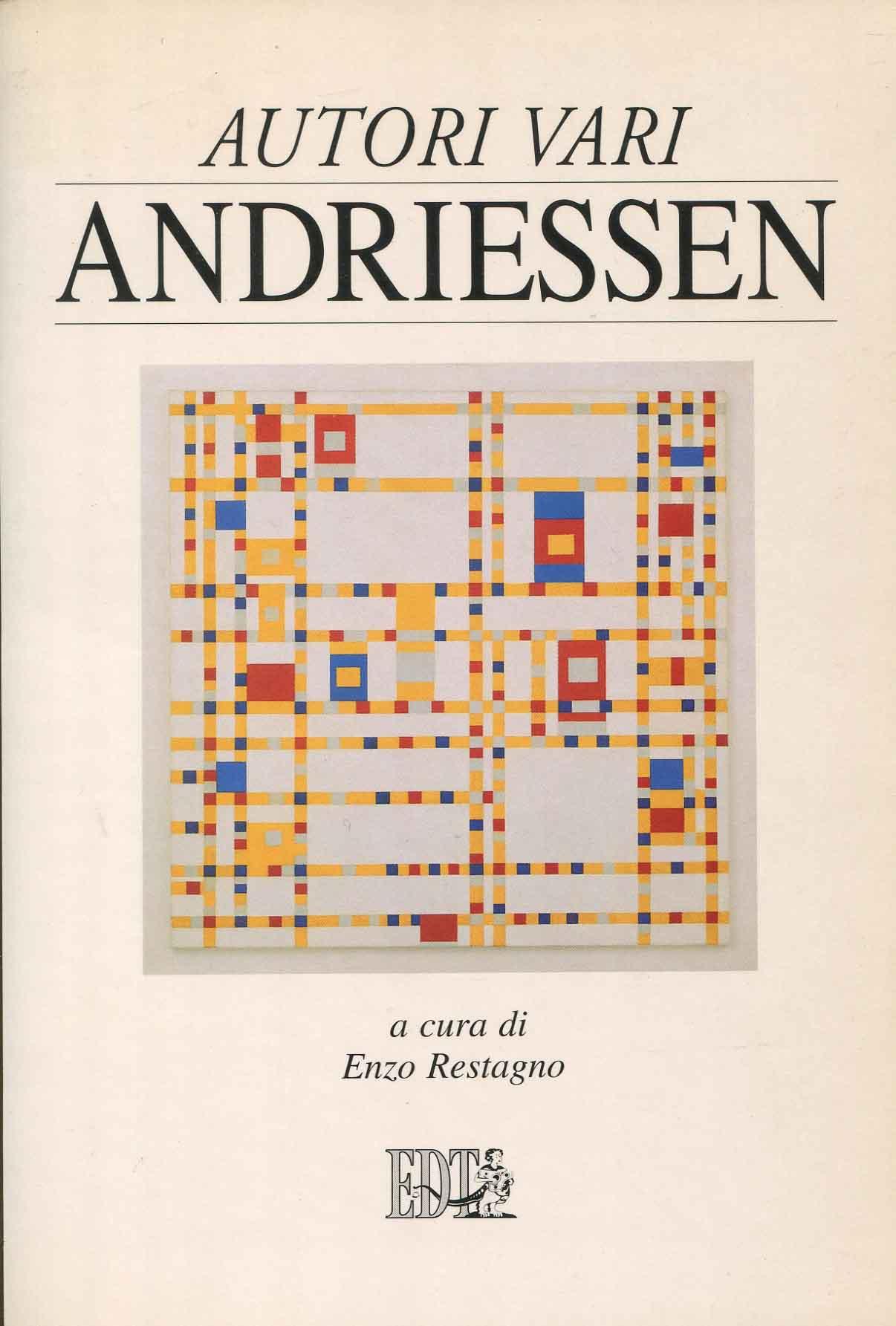 Andriessen ; a cura di Enzo Restagno