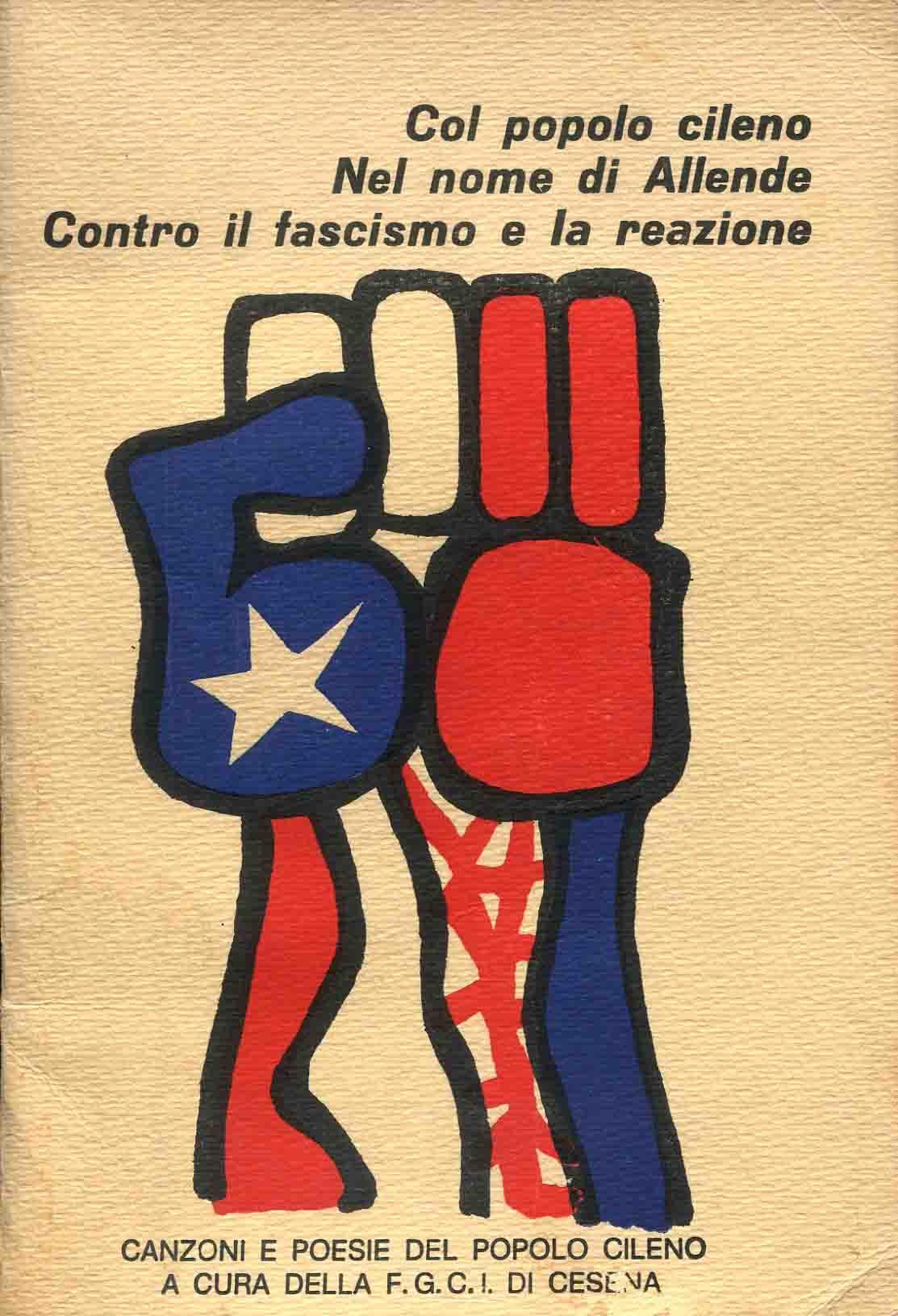 Col popolo cileno nel nome di Allende contro il fascismo e la reazione