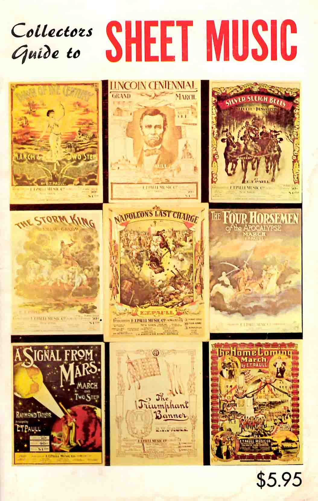 Collectors guside to sheet music