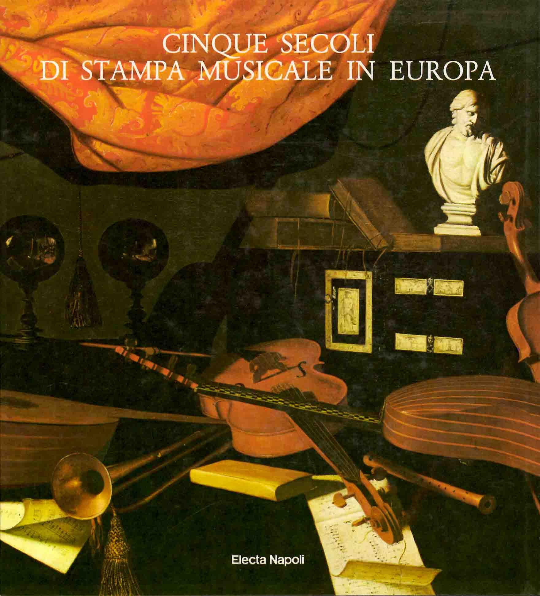 Cinque secoli di stampa musicale in Europa