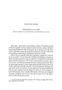 PREDAPPIO A 78 GIRI